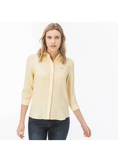 Lacoste Kadın  Gömlek CF0812.12R Sarı